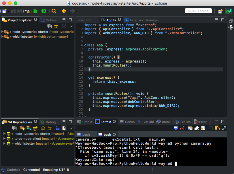 Create Your Own Mini-IDE For Web And Python Development (2019 update